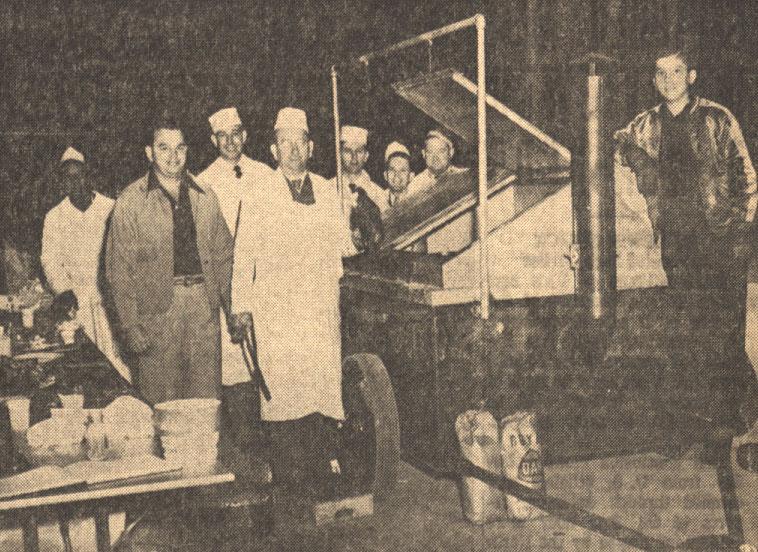 Moncla's Barbecue Wagon - 1948