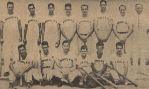 Monclas Baseball Team AG Aged 12