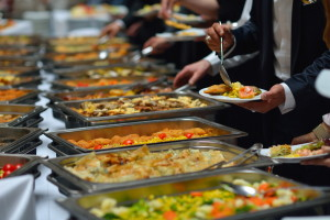 business lunch catering